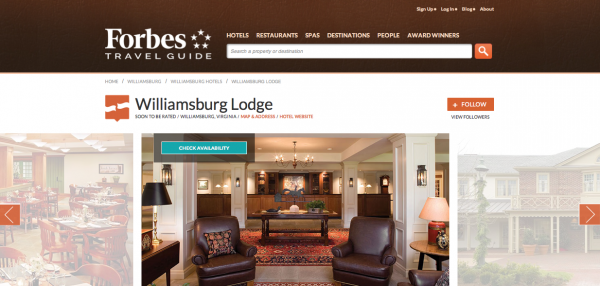 forbes-travel-guide-williamsburg-lodge